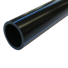 underground long lifespan plastic hdpe material pipe for water supply