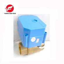 24v 110v DN32 latón ss304 6nm CWX-60p válvula de agua electrónica