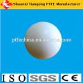 Dimensión de 75mm de la bola de la alta calidad ptfe