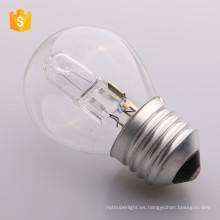 ECO G45 A55 C35 E14 E27 72W 53W 42W bombilla de ahorro de energía lámpara halógena