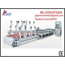 Cadena de producción automática de la cortadora de vidrio YC2620 para el tamaño máximo 2440 * 1830 mm