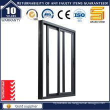 De Buena Calidad Ventana de cristal del marco de aluminio / aluminio que se desliza