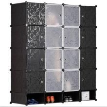 Armário do armário portátil armário do quarto