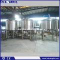 30BBL cerveza comercial que elabora el equipo Steam Bolier