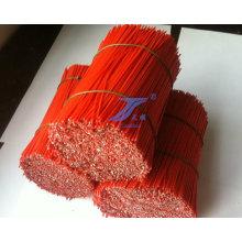 Высокое качество прямой ПВХ покрытием резки проводов