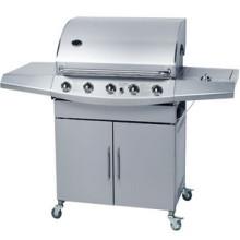BBQ do gás do aço inoxidável com 5 queimadores (CE aprovado)