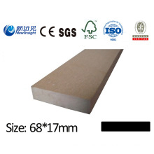 High Quality WPC Waterproof Plank Board for Decking Bench Dustbin Fence with CE SGS Fsc ISO WPC Board Wood Plastic Composite Antiseptic Plank Lhma117