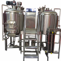 Cervejaria com 2 Vessel Brewhouse for Grill