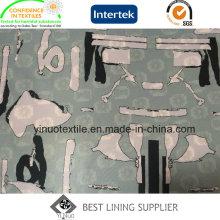 2016 новая мода печати полиэфира Подкладка для ткани
