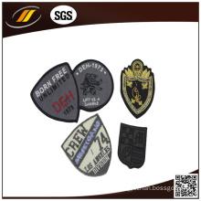 Factory Custom Fabric Embroidery Badge