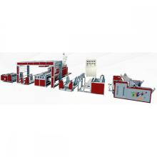 Machine de plastification automatique de film plastique à double extrusion