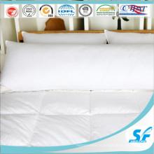Хлопковая ткань, утиный пух, длинная подушка, вставка, двойная кровать, подушка из микроволокна