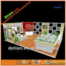 Portable and Custom booth display stand for trade fair trade show or exhibtion