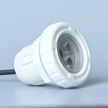 Lampe de piscine en vinyle blanc simple