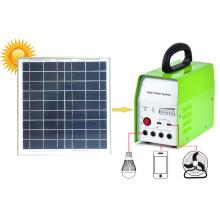 Sistema solar portátil para el hogar