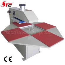 Complètement automatique Machine de transfert de chaleur de Station quatre