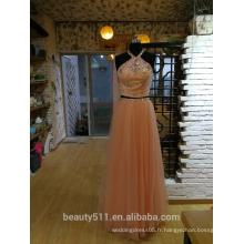Robe de soirée fête Ivanka Style Celebrity Style Halter robe de soirée P092