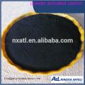 Carbono activado en polvo (PAC) de la mejor venta