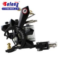 Solong TK105-16 kit de tatouage débutant avec des kits de tatouage d'alimentation d'énergie de pistolet de tatouage avec des aiguilles