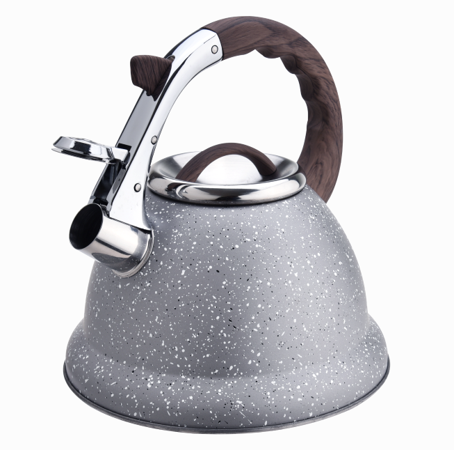 Marble Softtouch Handle Whistling Tea Kettle 416
