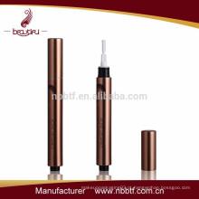 Tubo / recipiente de lubrificação de lábios vazios de alumínio e plástico