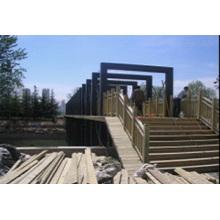 Bajo costo, instalación fácil Estructura de acero de estilo moderno