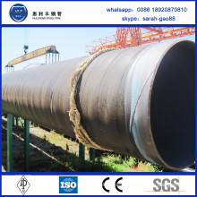 leading manufacturer 3pe coated spiral steel pipe