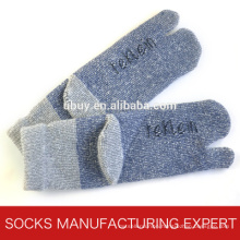 Men′s Winter Wool Two Toe Sock