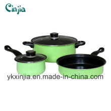 Kitchenware Carbon Steel Cooking Ware 5 Pieces Cookware Set