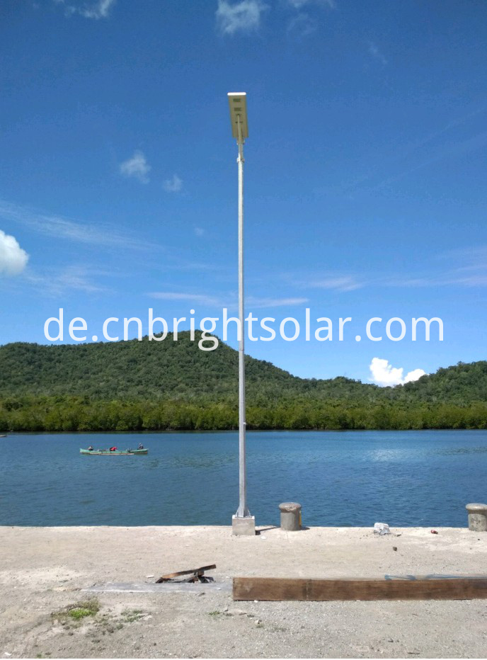 All In One solar street Light 80W