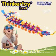 Educational Plastic Toys DIY 3D Pirate Ship Puzzle
