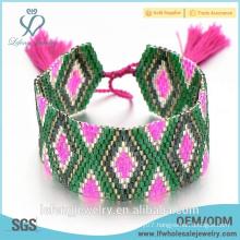 New trendy jewelry bohemian handmade jewelry cheap price bohemian wrap bracelet