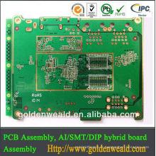 PCB en aluminium pour l'éclairage LED cctv caméra pcb