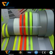 high light fluorescent green reflective webbing tape