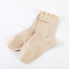 calcetines de maternidad de algodón orgánico de diseño personalizado