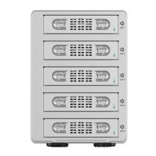 ORICO Alumínio Dual bay 3.5 polegadas SATA para USB3.0 Gabinete de disco rígido externo RAID (9528RU3)