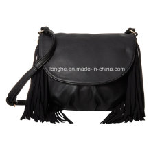 Fashion Fringes Ladies PU Handbag (ZXS0057)