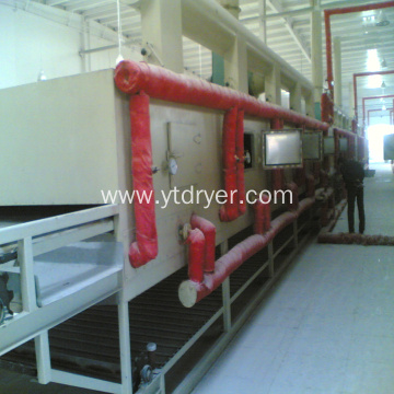 DWC series fiberboard gypsum board mesh dryer machine