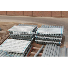 Tubo de aço galvanizado para Green House