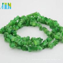 grânulos de microplaqueta do magnesite jóia do ofício grânulos de gemstone grânulos semi preciosos