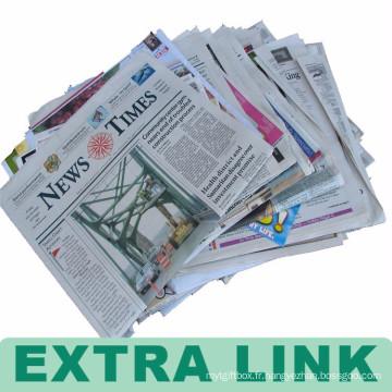 Papier journal utilisé en gros bon marché d'impression à vendre