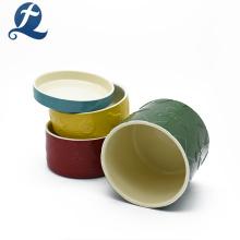 Tigelas de cerâmica chinesa empilháveis de nova produção