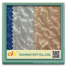 Telas de tapicería para sala de moda y decoraciones de cueros artificiales de pvc