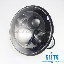 Halo 7-Zoll-Runde LED-Scheinwerfer für Offroad, Jeep Wrangler 7-Zoll-LED-Scheinwerfer, 7-Zoll-Runde LED-Scheinwerfer 12V 24V