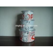 меламин посуда эмаль ледяной Кубок наборы с PE