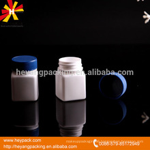 20ml white HDPE medical plastic container