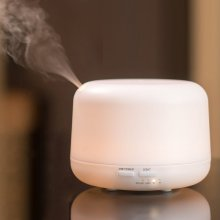500ml Mist Electric Humidifier White Oil Diffuser Aroma