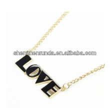 New Product LOVE Letter Pendant for Women Pendant Manufacture