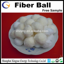 Modified Fibre Ball Filter Media for filtration