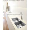 Deep Handmade Kitchen Double Sink